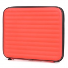 Portable Shock-Resistant Case w/ Dual-Speaker / 500mAh Battery for iPad 2 / 3 / 4 - Red + Black