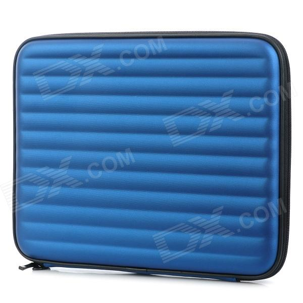 Portable Shock-Resistant Case w/ Dual-Speaker / 500mAh Battery for Ipad 2 / 3 / 4 - Blue + Black
