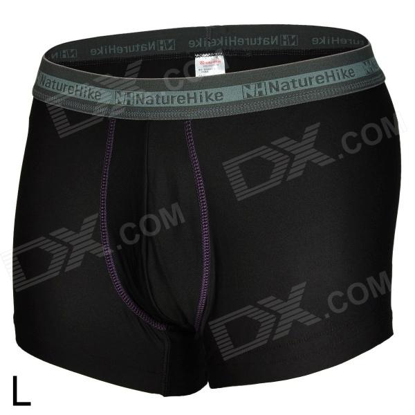 Naturehike BK01-M Outdoor Sports Quick-Dry Breathable Men's Underpants - Black (Size L) комплект стеклоочистителей swf visioflex oe 600 400 мм 119330