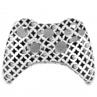 Full Housing Case for Xbox 360 Wireless Controller - Black + White