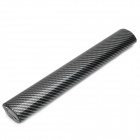 4D Air Permeable Carbon Fiber DIY Body Membrane Film - Black + Silver Gray