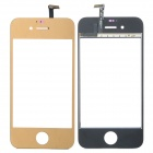 Ersatz PVC + Glass Touch Screen für iPhone 4S - Light Golden
