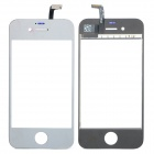 Replacement PVC + Glass Touch Screen for iPhone 4S - Silver