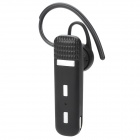 Handy Universal Bluetooth V3.0 Stereo Headphone for Samsung / Iphone + More - Black + Silver