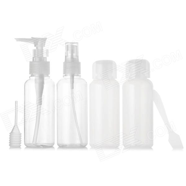 JOYTOUR JT2037 Travel PVC + PET Cosmetic Separate Storage Bottles Set - Transparent + Translucent