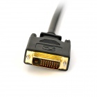 DIR-016 DVI Male Double Žena Splitter Cable - Black (30 CM)