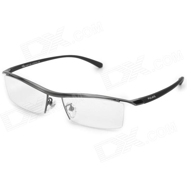 PULAISI 1280T Half-Frame Titanium Glasses Frame for Men ...