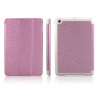 ENKAY ENK-3337 Protective PU Leather Case w/ Stand for Ipad MINI - Pink