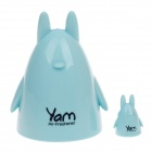 YAM Ocean Scent Rabbit Style Air Freshener for Car - Blue + Black