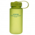 UZSPACE High-quality Leak-proof Frosted Bottle w/ Filter Cover - Green (400ml)
