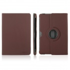 ENKAY ENK-7016 Cowboy Pattern 360' Rotate Protective PU Leather Case Stand for Samsung P5100 - Brown