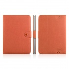 ENKAY ENK-7206 Simple Style Protective PU Leather Case Stand for Amazon Kindle Fire HD 8.9 - Orange