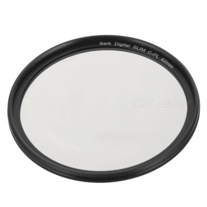 62mm CPL Circular Polarizer Lens Filter for Cameras benro 72mm cpl filter shd cpl hd ulca wmc slim filters waterproof anti oil anti scratch circular polarizer filter free shipping