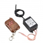 XY-009 3-Mode Wireless Strobe Flash Remote Controller for Car LED Light - Black + Brown (DC 12V)