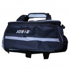 JOYTU 13715 Oxford Bicycle Rack Bag - Grey + Black