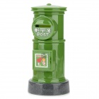 Stylish Mailbox Coin Bank - Green