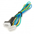 4 Pin Extension Power Cable for PC DC Cooling CPU Fan - Multicolored