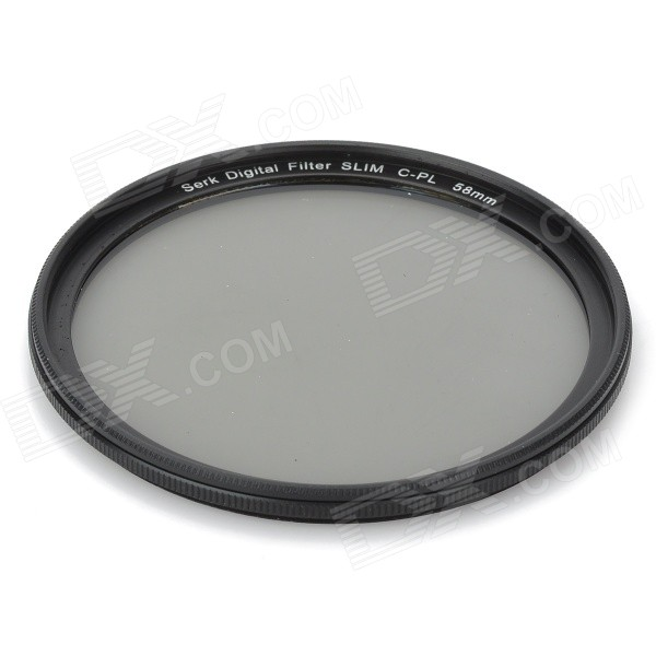 58mm CPL Circular Polarizer Lens Filter for Cameras