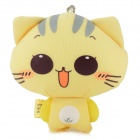 Cute CC Cat Doll Toy - Yellow + White + Brown + Grey