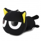 Cute Luo Xiao Hei Doll Toy - White + Yellow + Black