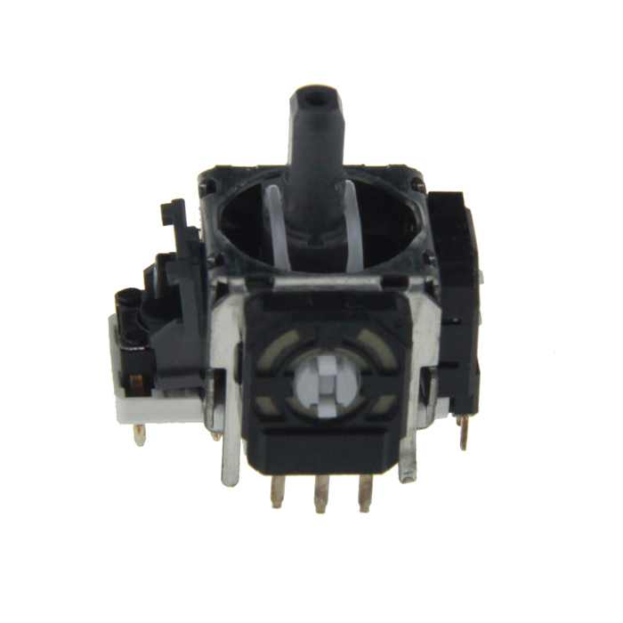 Replacement 3D Analog Stick Module for Wii U Pro Controller - Black