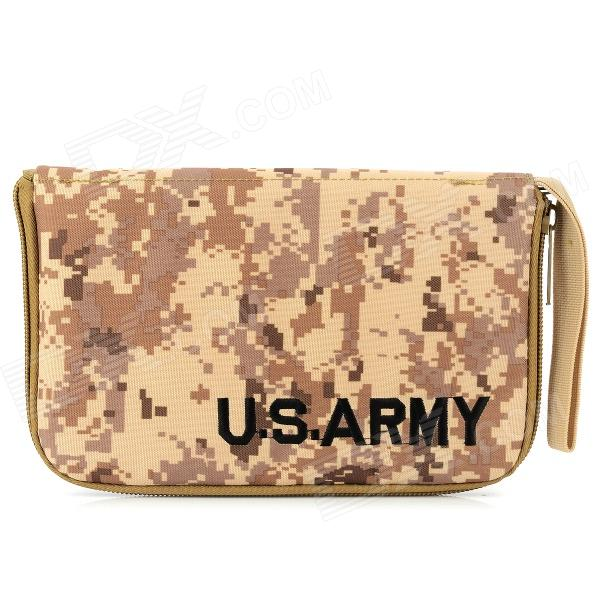 800D Fabric Water Resistant Bag for Pistol - Camouflage