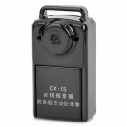 CX-05 GSM / GPRS Positioning Anti-Theft Alarm Tracker w/ 300KP Camera - Black
