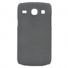 Quicksand Style Protective PC Back Case for Samsung i8262 - Grey