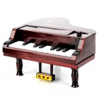 11-Key Electronic Music Box Piano Toy - Red (3 x AA)