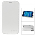 Azns Protective PU Leather Case for Samsung Galaxy S4 i9500 - White