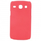 Quicksand Style Protective PC Back Case for Samsung i8262 - Red