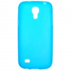 Protective Frosted TPU Back Case for Samsung Galaxy S4 Mini i9190 - Sky Blue