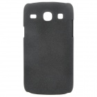 Quicksand Style Protective PC Back Case for Samsung i8262 - Black