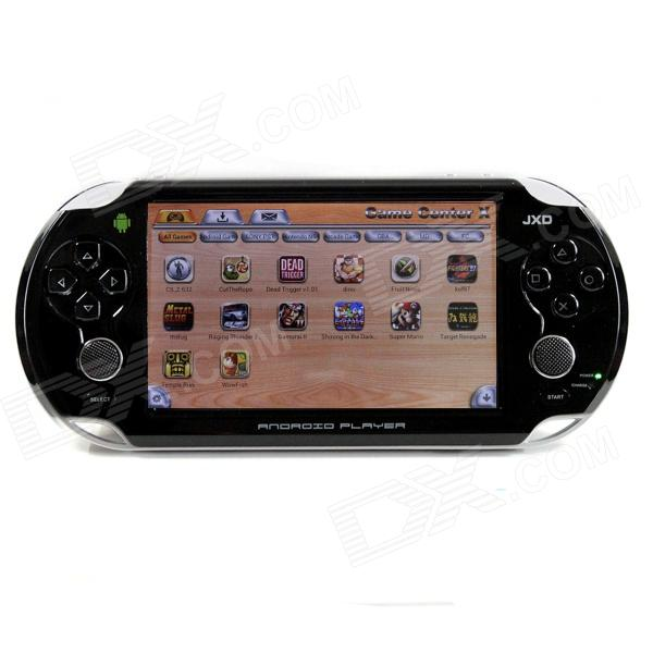 "JXD-S5110b 5"" Capacitive Screen Dual Core Android 4.1 Tablet / Smart Game Console w/ Wi-Fi - Black"