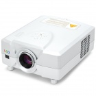 CL312A-WT MSTAR LCD Home Theater Projector w/ Analog TV / HDMI / VGA / YPbPr - White (EU Plug)