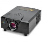 CL312A-BK MSTAR LCD Home Theater Projector w/ LED / Analog TV / VGA / YPbPr / HDMI - Black (EU Plug)