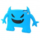 Monster Style Multi-Function Protective ABS Case for iPad Mini - Blue