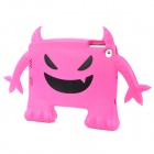 Monster Style Multi-Function Protective ABS Case for Ipad MINI - Deep Pink