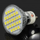 Lexing LX-015 GU10 4W 200lm 6500K 27-SMD 5050 Cold White Spotlight polttimo - Hopea