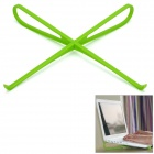 Portable Plastic Cooling Rack for Laptop - Green