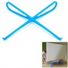 Portable ABS Cooling Rack for Laptop - Blue