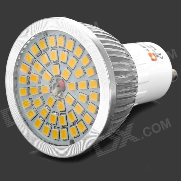 LeXing LX-020 6W 500lm 3300K 48-SMD 2835 LED Warm White Spotlight Bulb - Silver lexing lx lzd 1 e14 3w 200lm 3500k 6 smd 5730 led warm white lamp bulb 85 265v