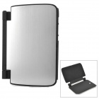 Protective PC Case w/ Stand for Samsung Note 8.0 / N5100 - Black + Silver