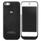 DIWEINUO D5-CII External 2200mAh Power Battery Charger Back Case for iPhone 5 - Black