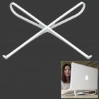 Portable Plastic Cooling Rack for Laptop - White