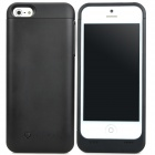 2200mAh Rechargeable Li-ion Power Back Case for iPhone 5 - Black