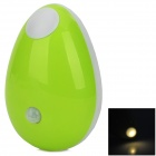 Datouren DTR-810 Human Body Induction 0.3W 8lm 3200K LED Warm White Light - Green (2 x CR2032)