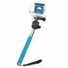 PANNOVO Monopod w/ TrIPOD Adapter for GoPro / SJ4000 - Blue + Silver