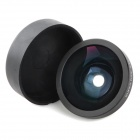 Universal 0.4X Wide Angle Lens for Iphone / Samsung + Cellphone - Black + White