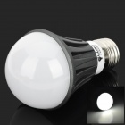 M22 E27 5W 230lm 6000K 10-LED White Light Lamp - Black